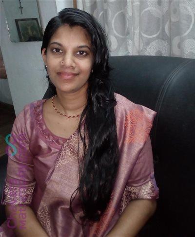 Pala Matrimony  Bride user ID: TPLA1171