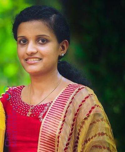Changanacherry Matrimony Bride user ID: CCHY456411