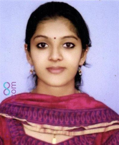 Cochin Matrimony Bride user ID: CEKM234535