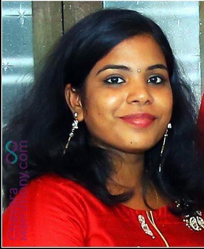 Cochin Matrimony  Bride user ID: CEKM457266