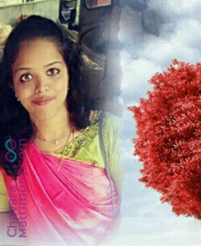 Thrissur Diocese Matrimony  Bride user ID: manjus