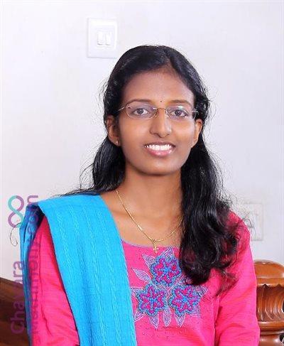 Ernakulam Matrimony  Bride user ID: TEKM10616