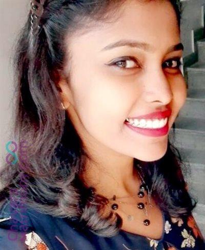 Bangalore Matrimony  Bride user ID: ginageorge