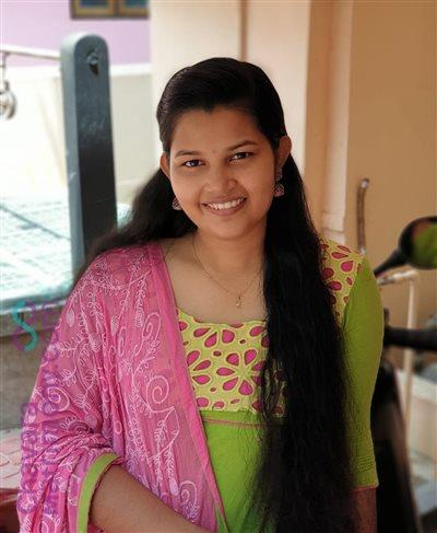 Thrissur Matrimony Bride user ID: CCKY456526