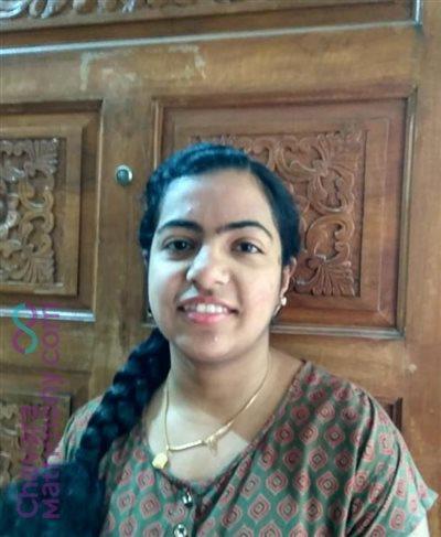 Visual Communication Designer Matrimony Bride user ID: Merin0832