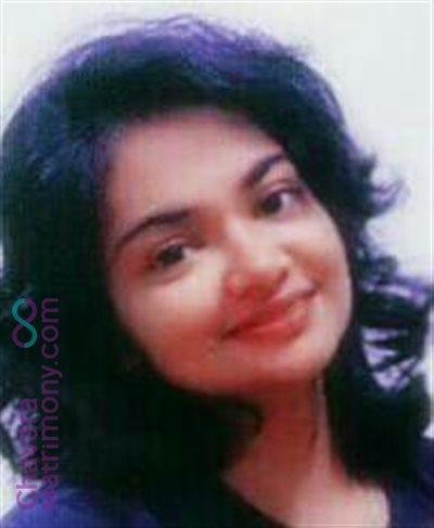 Adimaly Matrimony Bride user ID: BakkithaGeor953