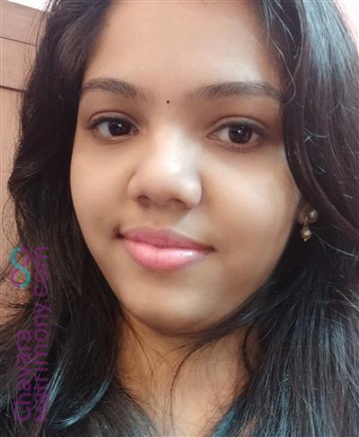 Perumbavoor Matrimony Bride user ID: ashnapaul2806