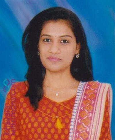 Bangalore Matrimony  Bride user ID: TBGR1087