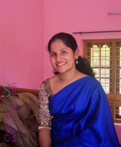Changanacherry Matrimony Bride user ID: CCHY457034