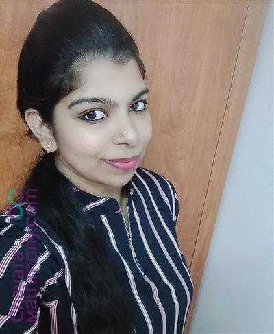 Pala Matrimony  Bride user ID: CKVD456739