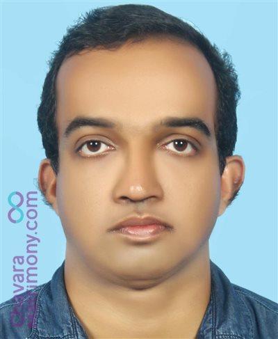 Mavelikkara Groom user ID: CCHY234850