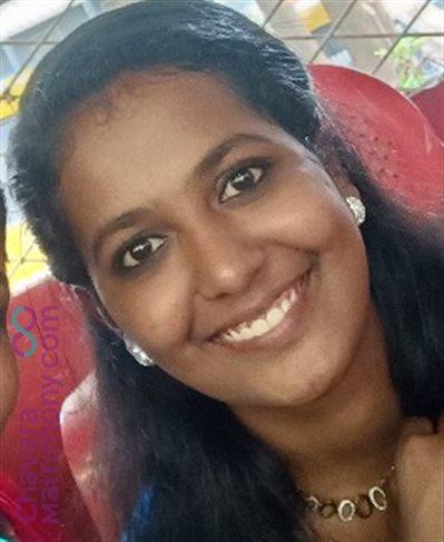 Pavaratty Matrimony  Bride user ID: CPTY456418