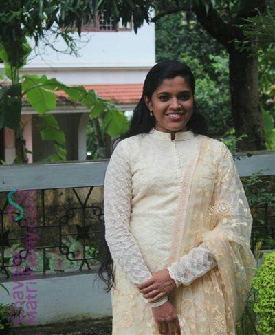 Angamaly Matrimony  Bride user ID: Meenu369