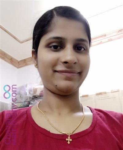 Kollam Diocese Matrimony  Bride user ID: Seenu1993