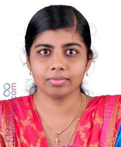 Bhadravathi Diocese Matrimony Bride user ID: CPLA234535