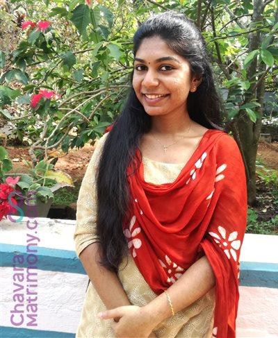 Chalakudy Matrimony Bride user ID: CCKY234258