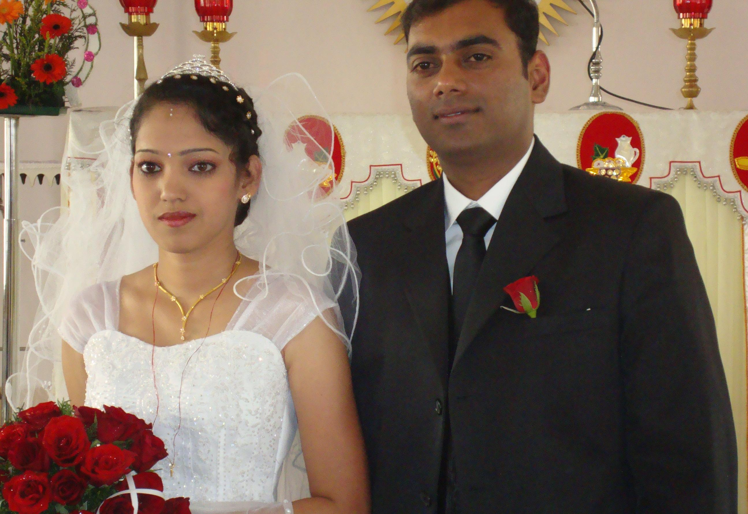 Antony paul and Meji Maria