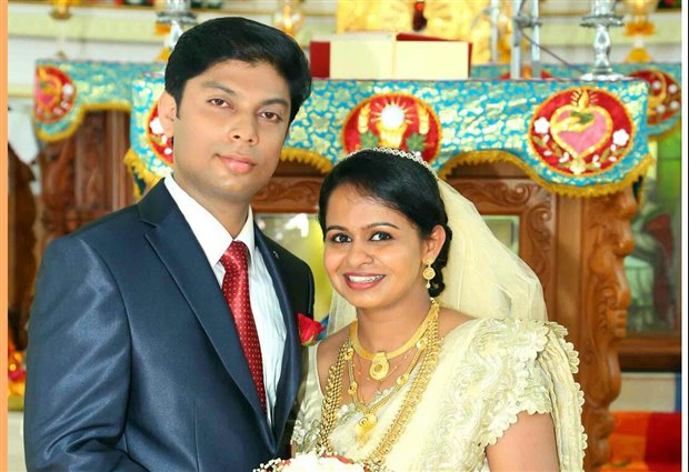 Antony and Vimitha