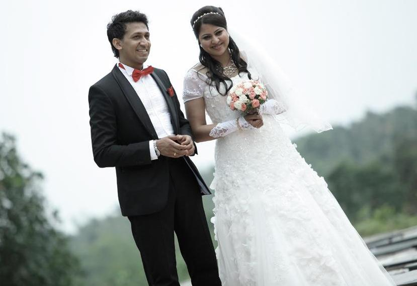 Anoop  and Anna Rose