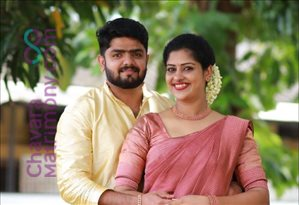 Wedding Photos of Midhun Raju and Reshma Sibi