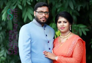 Wedding Photos of Ajeens Thanklachan and Deniya Varghese