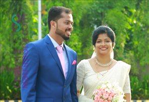 Boney & Keerthi 's Wedding Photos | ChavaraMatrimony com
